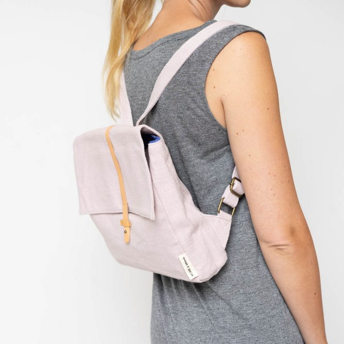 Monk&Anna - Kodomo - Backpack - Soft pink