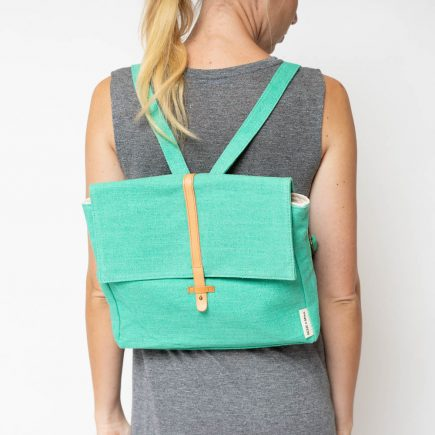 Monk & Anna - Backpack - Emerald Green