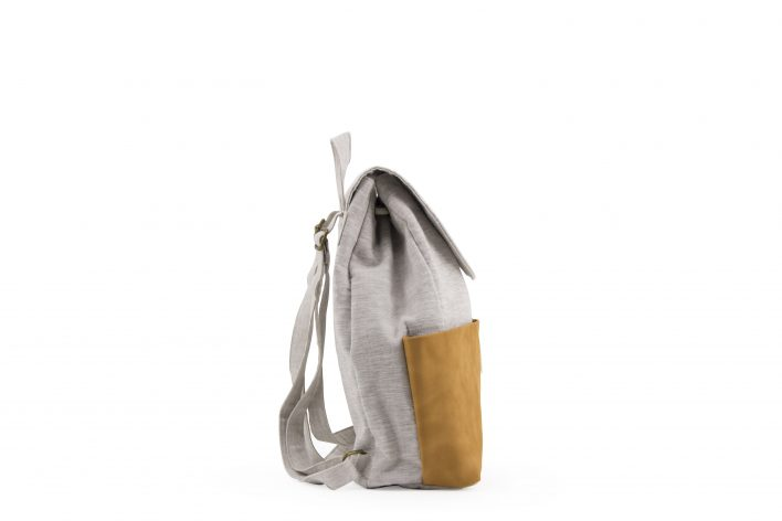 Haruo drawstring backpack - Fudge