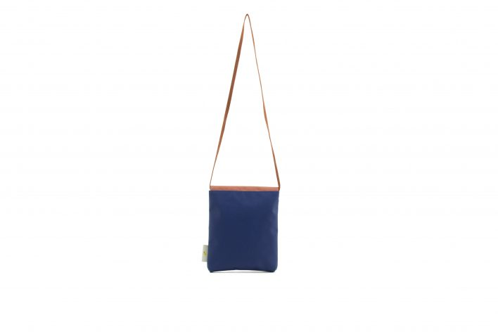 Sticky Lemon – envelope bag – denim blue back