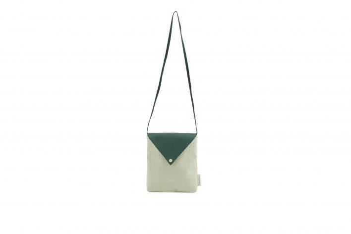 Sticky Lemon – envelope bag – powder blue front