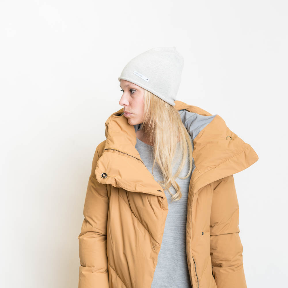 100/% Wolle buntgestreifte Beanie invero: Mütze Mucke Mode Made in Germany