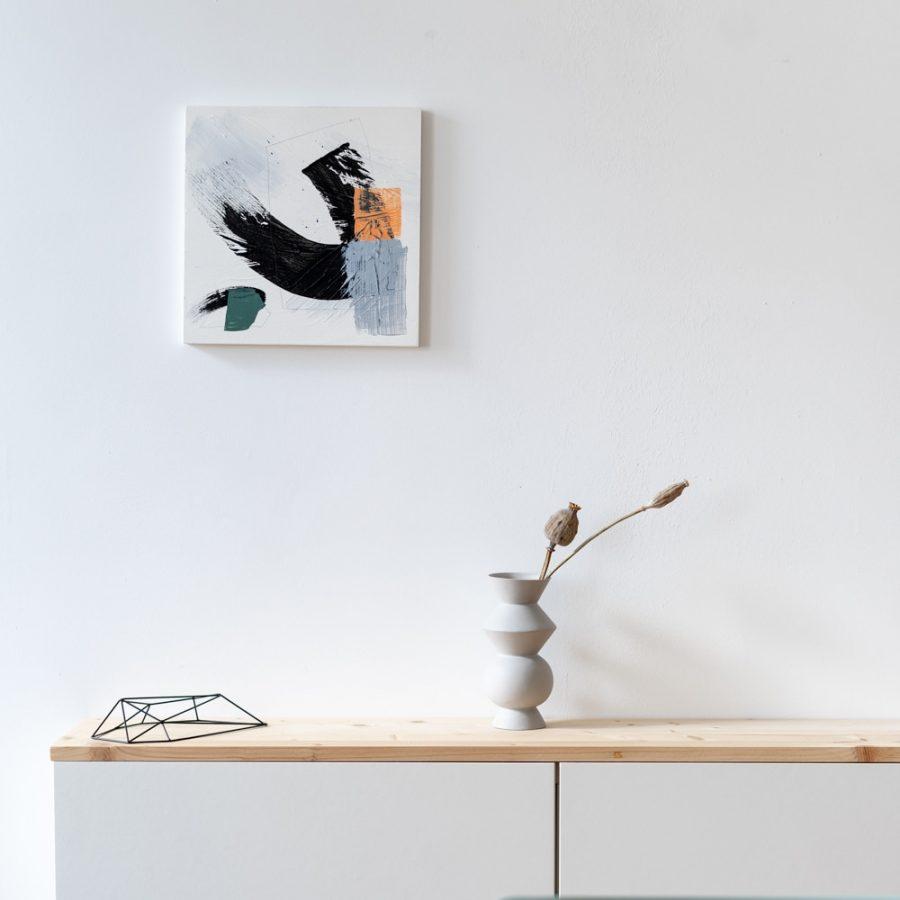 nice Art – Acryl auf Holzkörper | 30×30 cm