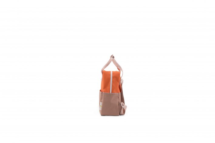 1801392 – Sticky Lemon – product – backpack small – colour blocking – royal orange, pastry pink,