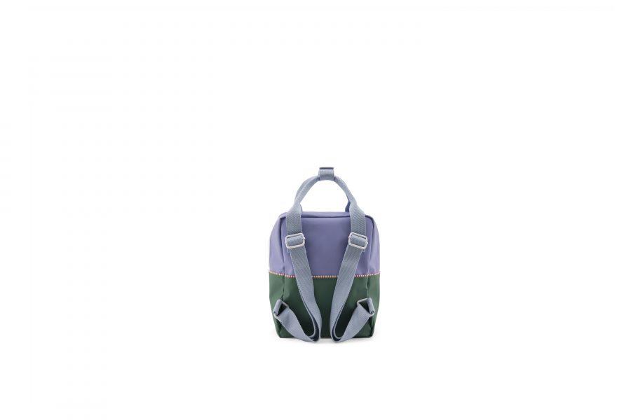 1801394 – Sticky Lemon – product – backpack small – colour blocking – moustafa purple, henckles