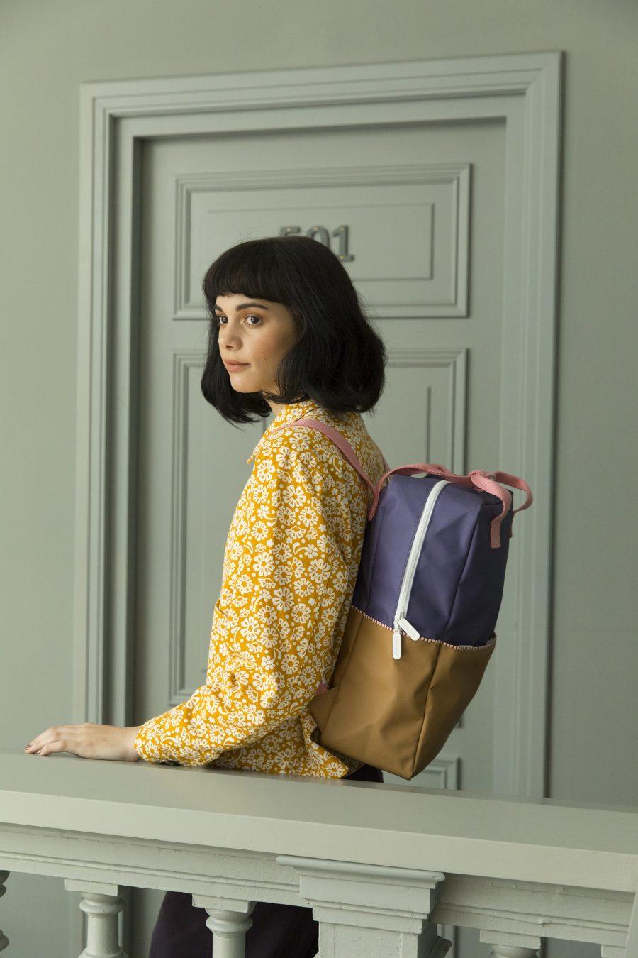 1801397 – Sticky Lemon – style – Backpack large – lobby purple _ panache gold _ puff pink