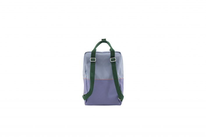1801398 – Sticky Lemon – product – backpack large – colour blocking – moustafa purple, henckles