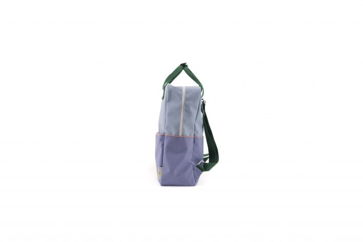 1801398 – Sticky Lemon – product – backpack large – colour blocking – moustafa purple, henckles side
