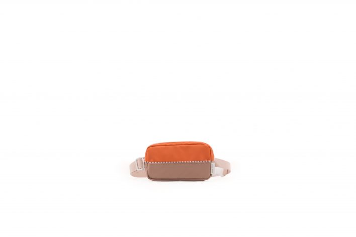 1801400 – Sticky Lemon – product – fanny pack – colour blocking – royal orange, pastry pink, cho