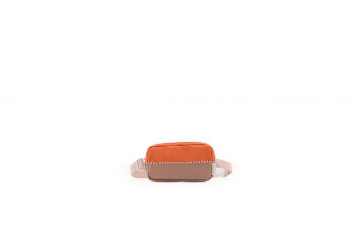 1801400 – Sticky Lemon – product – fanny pack – colour blocking – royal orange, pastry pink, cho