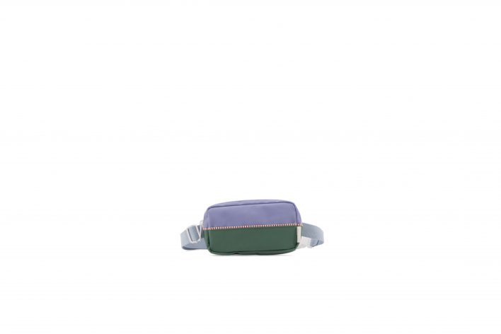 1801402 – Sticky Lemon – product – fanny pack – colour blocking – moustafa purple, henckles blue