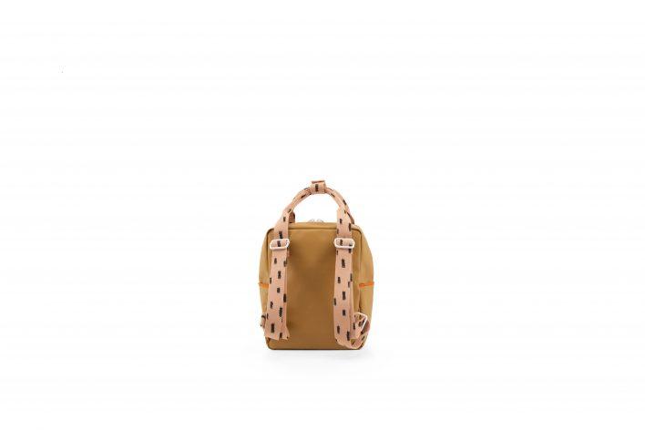 1801528 – Sticky Lemon – backpack small – sprinkles – panache gold _ lemonade pink – back