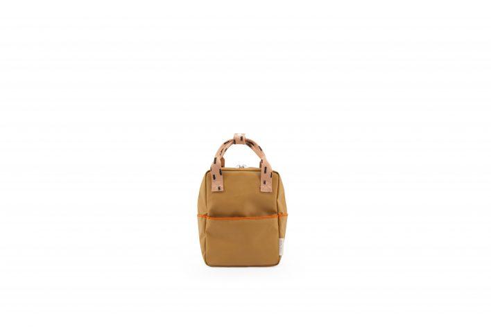 1801528 – Sticky Lemon – backpack small – sprinkles – panache gold _ lemonade pink – front