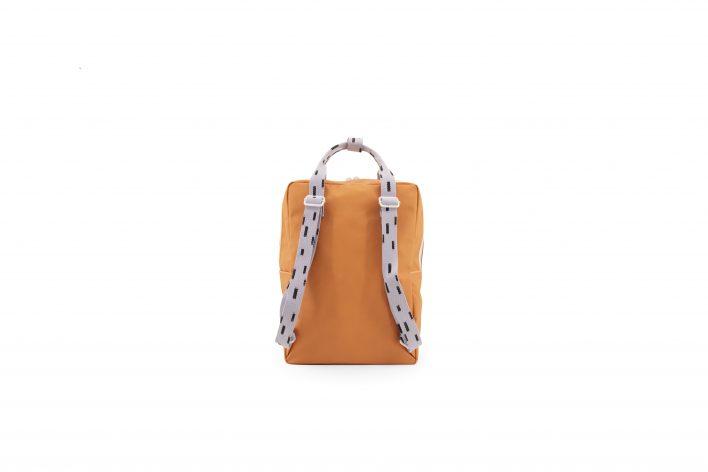 1801531 – Sticky Lemon – backpack large – sprinkles – apricot orange _ lavender – back