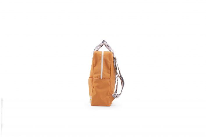 1801531 – Sticky Lemon – backpack large – sprinkles – apricot orange _ lavender – side