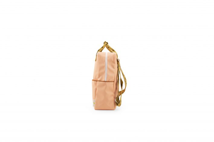 1801532 – Sticky Lemon – backpack large – sprinkles – lemonade pink _ panache gold – side