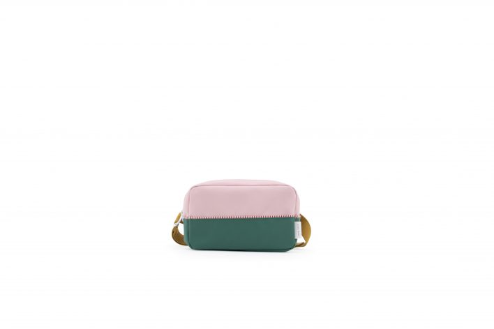 1801405 – Sticky Lemon – fanny pack large – colour blocking – pastry pink _ movie green _ panach
