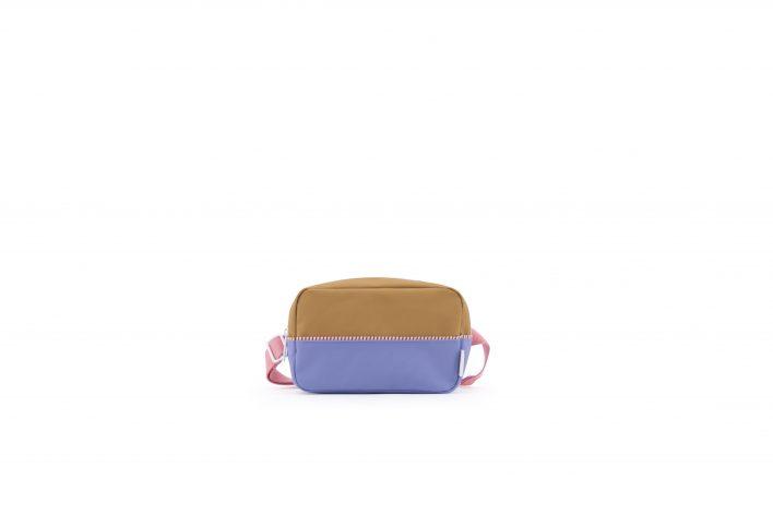 1801406 – Sticky Lemon – fanny pack large – colour blocking – panache gold _ moustafa purple _ p