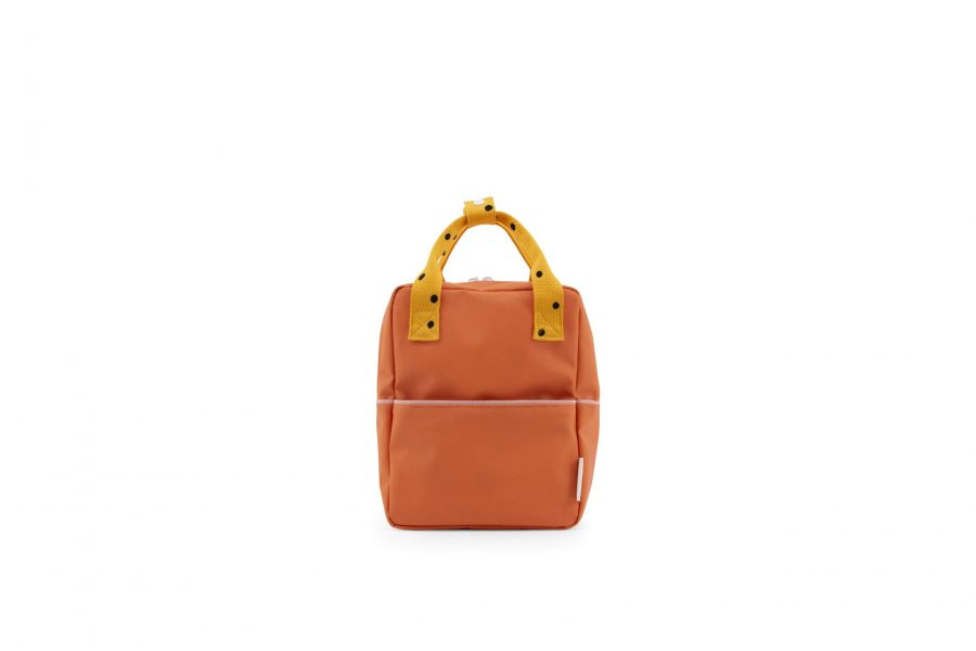 1801640 – Sticky Lemon – freckles – backpack small – carrot orange + sunny yellow + candy pink