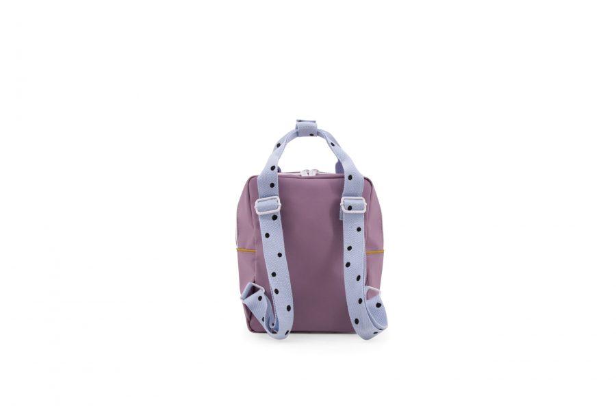 1801641 – Sticky Lemon – freckles – backpack small – pirate purple + sky blue + caramel fudge – (2)