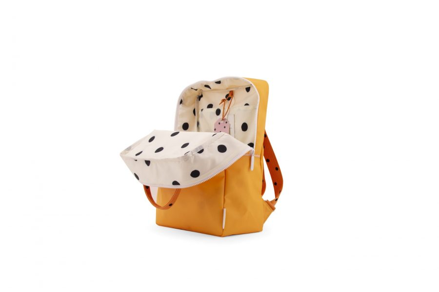 1801644 – Sticky Lemon – freckles – backpack large – sunny yellow + carrot orange + candy pink –