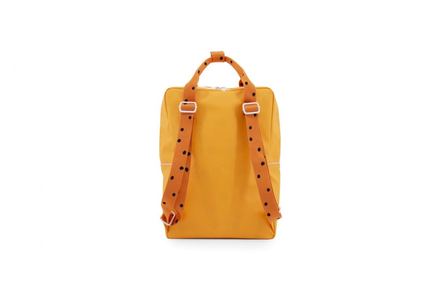 1801644 – Sticky Lemon – freckles – backpack large – sunny yellow + carrot orange + candy pink – (1)