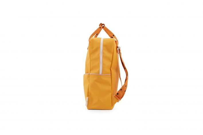 1801644 – Sticky Lemon – freckles – backpack large – sunny yellow + carrot orange + candy pink – (2)