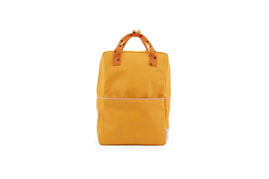 1801644 – Sticky Lemon – freckles – backpack large – sunny yellow + carrot orange + candy pink