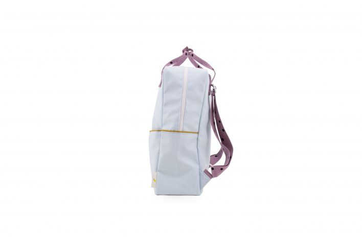 1801645 – Sticky Lemon – freckles – backpack large – sky blue + pirate purple + caramel fudge – (2)