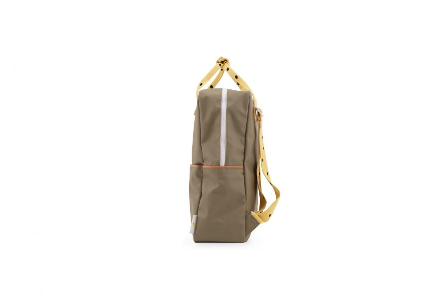 1801646 – Sticky Lemon – freckles – backpack large – seventies green + retro yellow + faded oran (2)