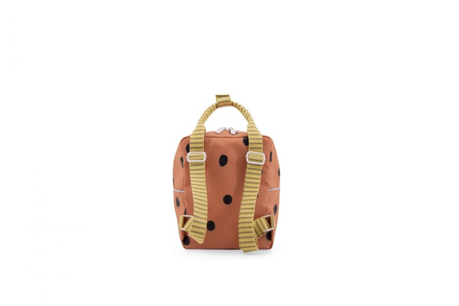 1801647 – Sticky Lemon – freckles – backpack small – faded orange – back