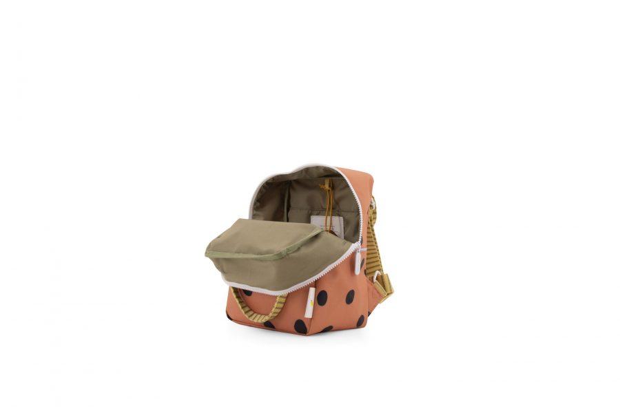 1801647 – Sticky Lemon – freckles – backpack small – faded orange – inside
