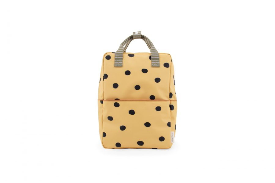 1801648 – Sticky Lemon – freckles – backpack large – retro yellow
