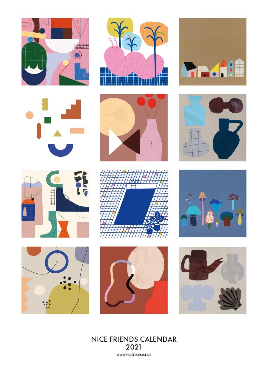 nice friends calendar (2)