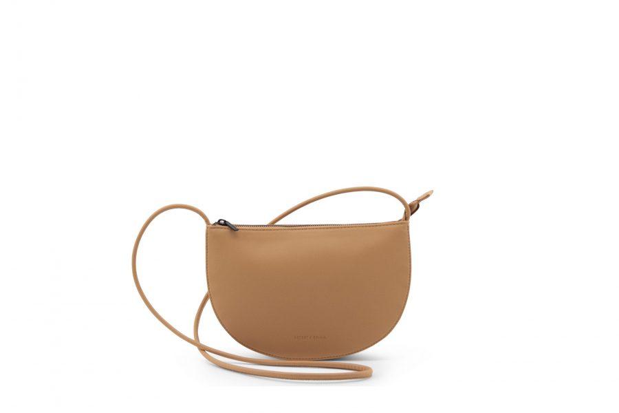 1601492 – Monk & Anna – product – Farou half moon bag – cashew – 3