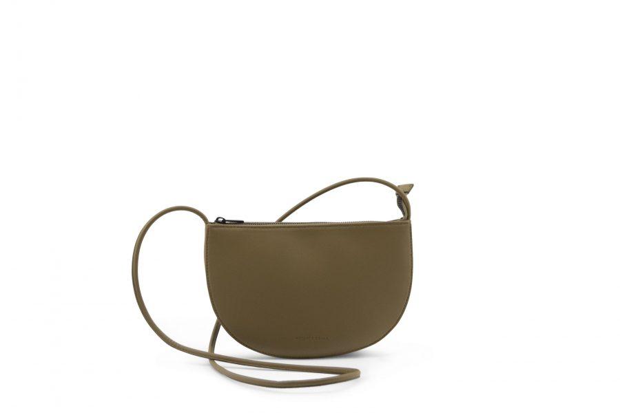 1601493 – Monk & Anna – product – Farou half moon bag – olive – 3