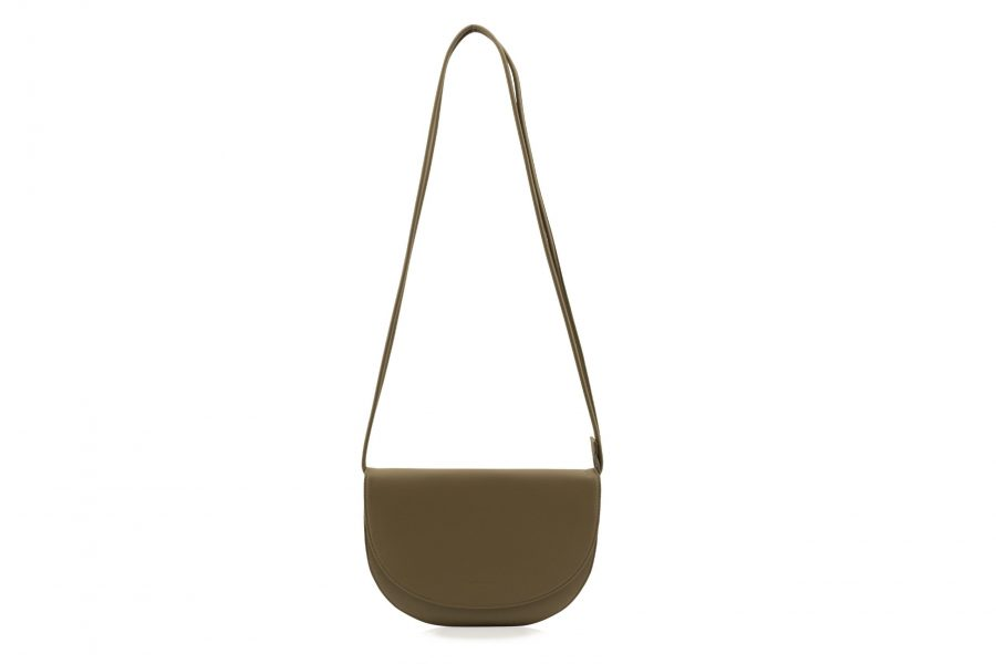 1601496 – Monk & Anna – product – Soma half moon bag – Olive – 1