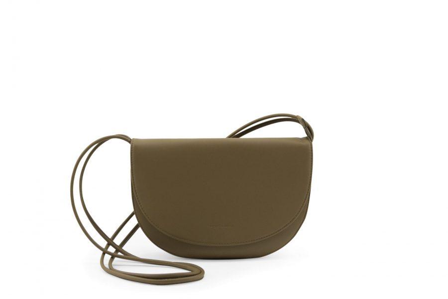 1601496 – Monk & Anna – product – Soma half moon bag – Olive – 3