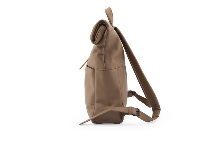 1601497 – Monk & Anna – product – Herb backpack – cacao – side