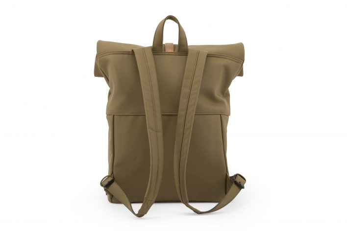 1601499 – Monk & Anna – product – Herb backpack – olive – back