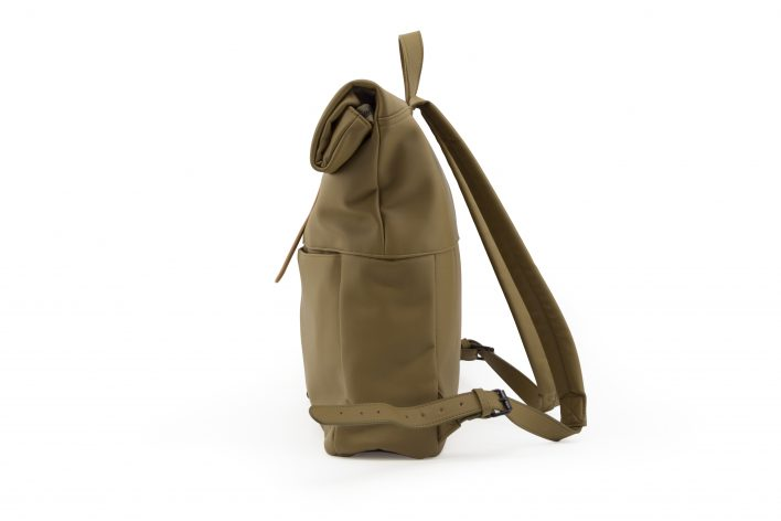 1601499 – Monk & Anna – product – Herb backpack – olive – side