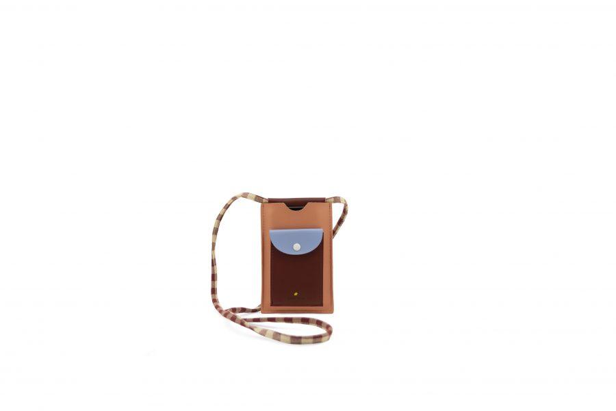1801909 – Sticky Lemon – phone pouch – cherry red – sunny blue – berry swirl